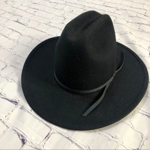 Western Express Inc. Black Hat 100% Wool